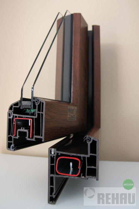 Rehau-euro-70-Design braun