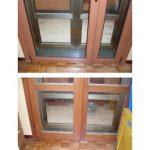 Balkontür - ohne Querseite-mit asymetrischer Unterteilung