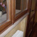 Fensterwechsel- zwei Flügel- Balkontür- innen- vorher