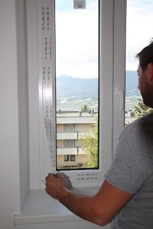 Montage Fenster Rehau E Design Schutzfolie